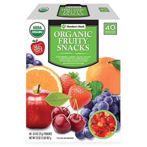 Member's Mark Organic Fruity Snacks (40 ct.)