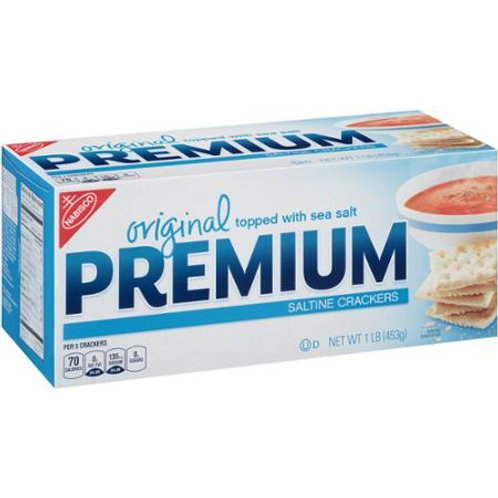 Nabisco Premium Original Saltine Crackers, 16 oz