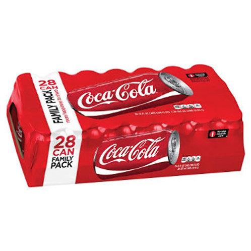Coke (12 oz. cans, 28 pk)