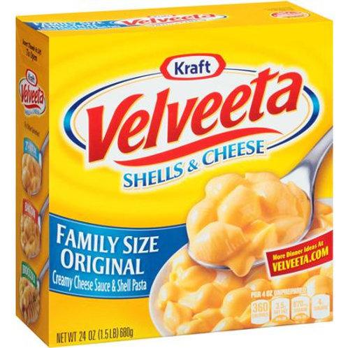 Kraft Family Size Velveeta Shells & Cheese, 24 oz