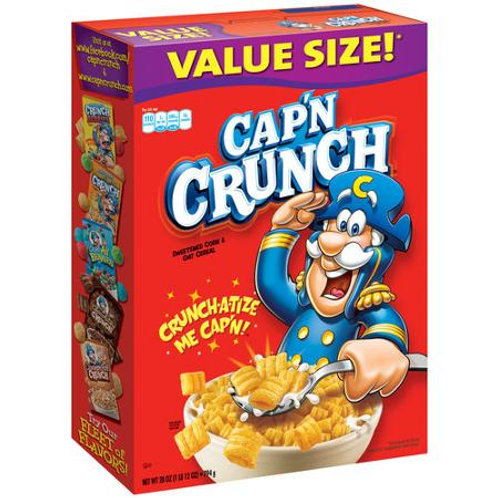 Quaker Cap'n Crunch Original Cereal, 28 oz