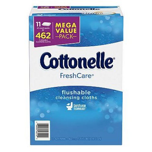 Kleenex Cottonelle FreshCare Flushable Cleansing Cloths 42 ct., 11 pk
