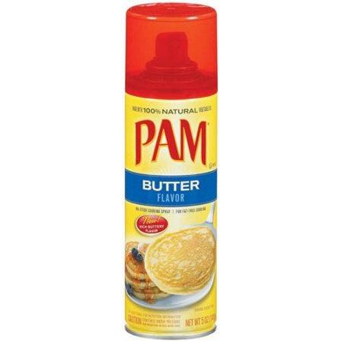 Pam: Butter Cooking Spray, 5 Oz