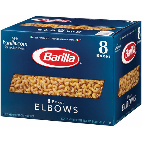 Barilla Elbows, 1 lbs., 8 ct.