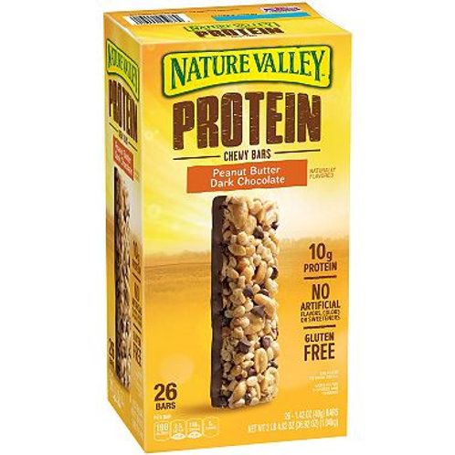 Nature Valley Protein Peanut Butter Dark Chocolate Gluten-free Chewy Bars (1.42