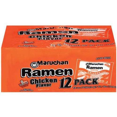 Ramen Flavor 12 Ct Chicken Soup, 36 Oz
