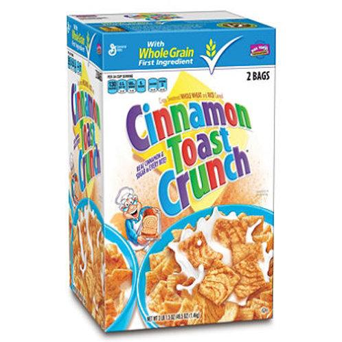 Cinnamon Toast Crunch Cereal 24.75 oz. bag, 2 ct