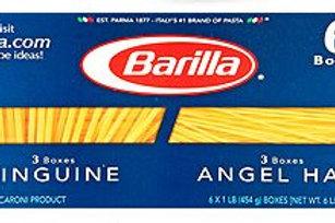 Barilla Angel Hair and Linguine Pasta, 16 oz.- 6 pk
