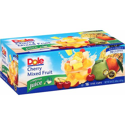 Dole Cherry Mixed Fruit Cups, 16 pk./4 oz.