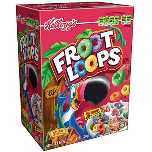 Kellogg's Froot Loops Cereal 43.6 oz