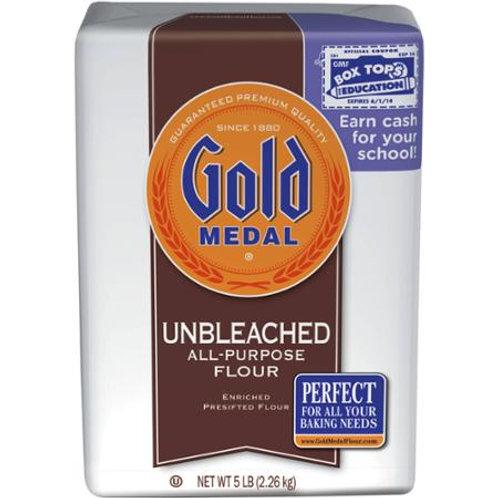 Gold Medal Unbleached All-Purpose Flour, 5 lb