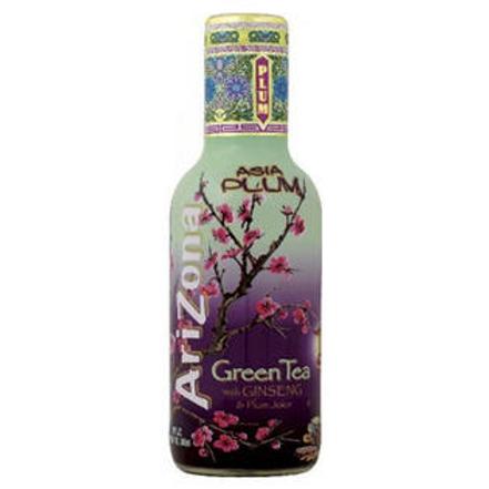 Arizona Arizona Asia Plum Green Tea 20 Oz 24 pk