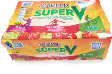 Capri Sun Super V Juice Drink - 40 pk of 6 oz