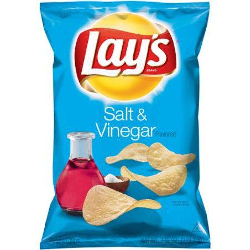 Lay's Salt & Vinegar Flavored Potato Chips, 7.5 oz