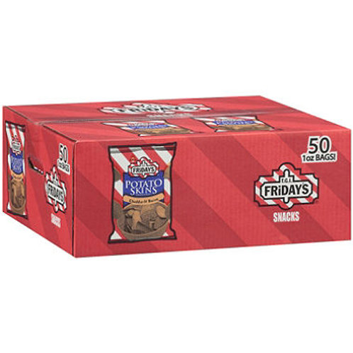 Cheddar & Bacon Potato Skins Chips -1 oz. 50ct