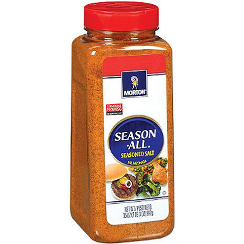 Morton Season-All Seasoned Salt - 35 oz.