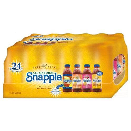 Snapple Tea Variety Pack 20 oz. bottles, 24 pk