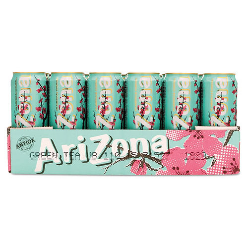 Arizona Green Tea Ginseng & Honey 23 oz. can 24 pk