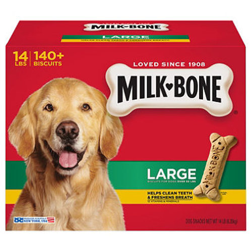 Milk-Bone Dog Biscuits, Large (14 lbs.)
