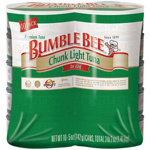 Bumble Bee Chunk Light Tuna in Oil - 5 oz. - 10 ct