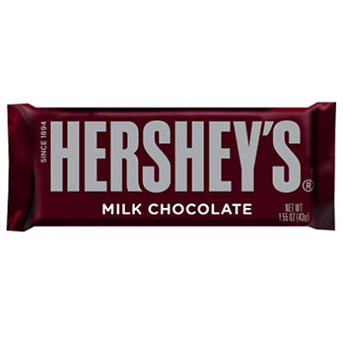 Hershey's Milk Chocolate Bar (1.55 oz., 36 ct.)