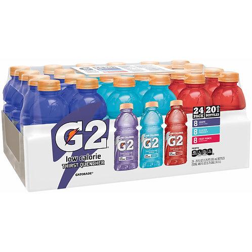 Gatorade G2 Low Calorie Variety Pack, 24 pk./20 Oz