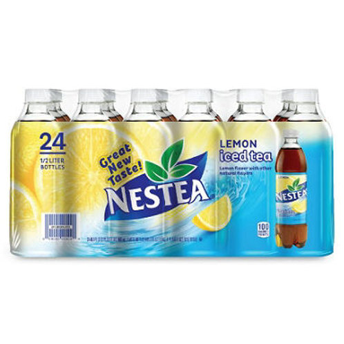 Nestea Iced Tea, Lemon 16.9 oz. bottles, 24 pk