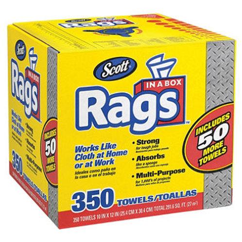 Scott Shop Rags In A Box (350ct.)