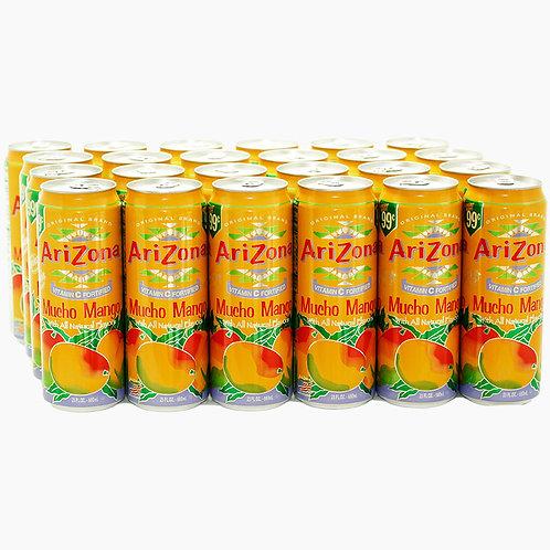 Arizona Mucho Mango - 23 oz. cans - 24 ct.