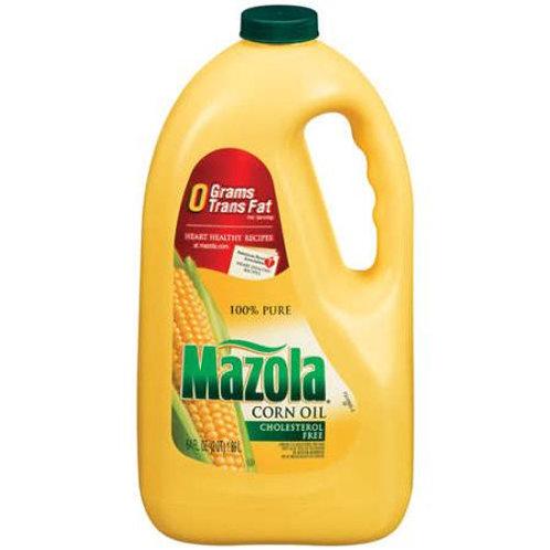 Mazola: 100% Pure Corn Oil, 64 fl oz