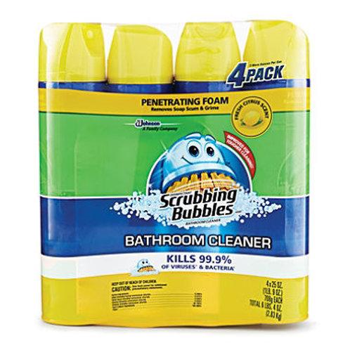 Scrubbing Bubbles Lemon Bathroom Cleaner -25oz pk