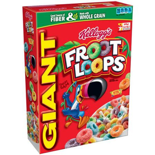 Kellogg's Froot Loops Cereal, 26 oz
