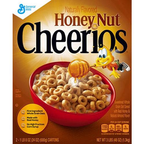 General Mills Honey Nut Cheerios 24 oz. box 2 ct