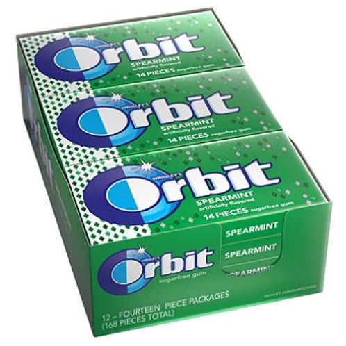 Orbit Spearmint Sugar-free Gum (12 pk.)