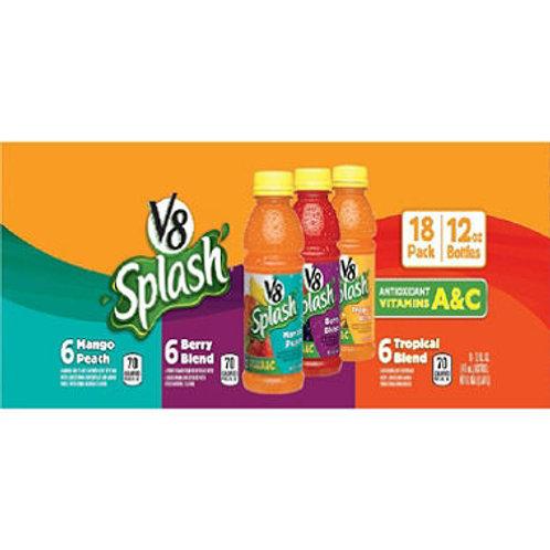V8 Splash Tropical Blend Juice Drink 12 oz.18 pk