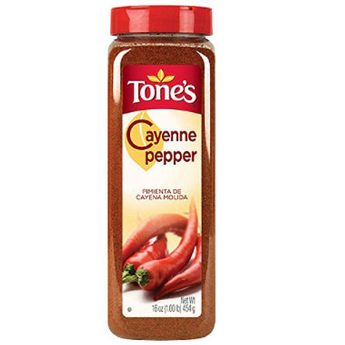 Tone's® Ground Cayenne Pepper - 16 oz. shaker