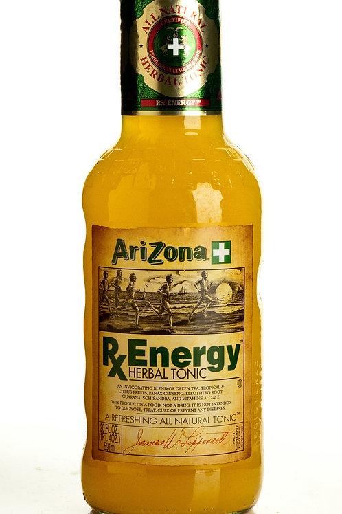 Arizona Tea RX Energy Herbal Tonic 20 Oz 24 pk
