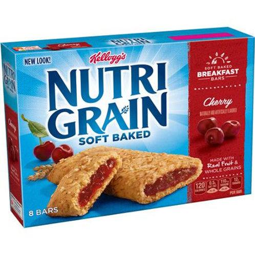 Nutri-Grain Soft Baked Cherry Breakfast Bars, 8
