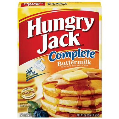 Hungry Jack Buttermilk Pancake & Waffle Mix, 32 oz