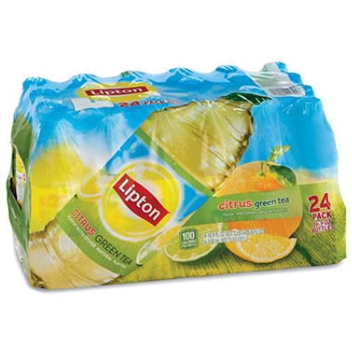 Lipton Green Tea with Citrus 16.9 oz. bottles, 24