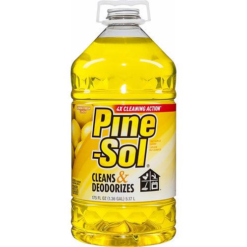 Pine-Sol Lemon-Scent Cleaner, 175 oz.