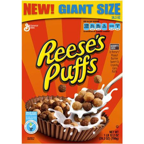 Reese's Puffs Cereal, 28.2 oz