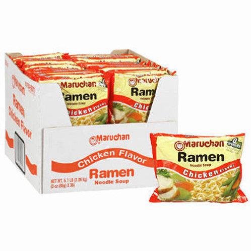 Ramen Noodle Soup - Chicken Flavor - 3 oz 36 pk