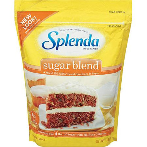 Splenda For Baking Sugar Blend, 2 lb Resealable
