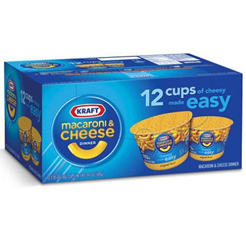 Kraft Macaroni & Cheese Dinner (12 ct.)
