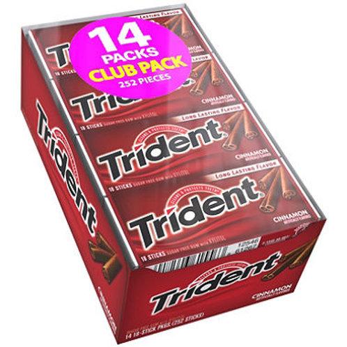 Trident Cinnamon Sugar Free Gum - 18 ct. - 14 pk.