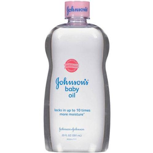 Johnson's Baby Oil, 20 fl oz