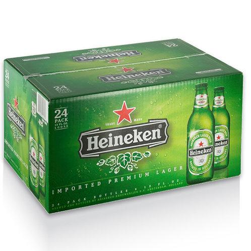 Heineken Lager Beer 12 fl. oz 24 pk