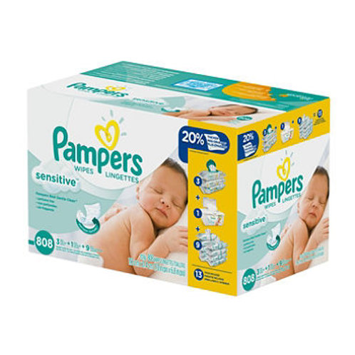 Pampers Sensitive Baby Wipes (808 ct.)
