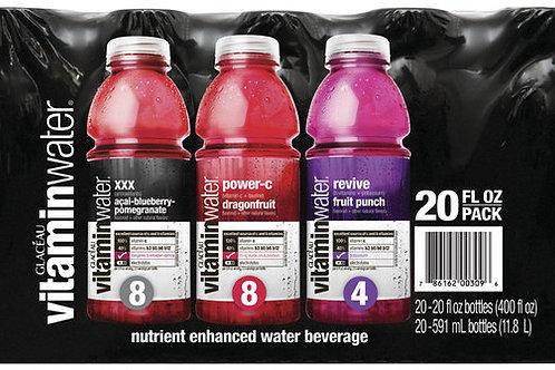 Vitaminwater Variety, 20 Oz., 20-Pk